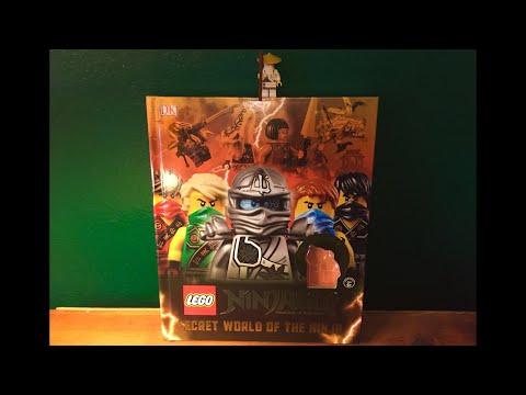 LEGO Ninjago Secret World of the Ninja Book REVIEW!
