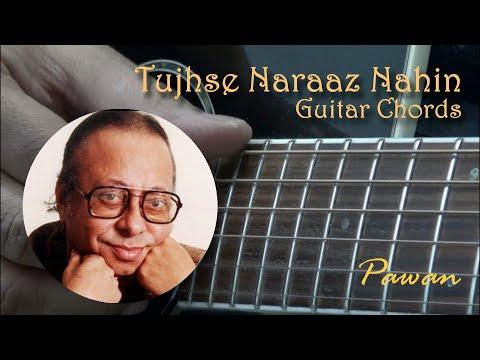 Tujhse Naraaz Nahin - Masoom - Guitar Chords Lesson by Pawan