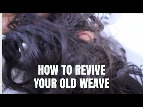 How to Revive Old Human Hair Weave - Yes Weave