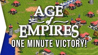 Age of Empires 1 ► One Minute Mission Victory Speedrun - [Highlight]