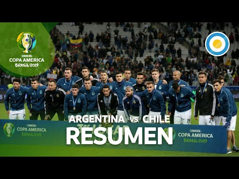 Resumen de Argentina 2-1 Chile | Copa América 2019