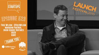 Fred Wilson on USV stars (Twitter, Kickstarter), great VCs, blogging, our economy & the future