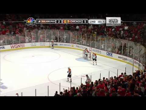 Stanley Cup Finals. Flyers vs Blackhawks (Game 5, 06 june 2010)