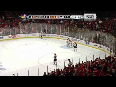 Stanley Cup Finals. Flyers vs Blackhawks (Game 5, 06 june 2010)