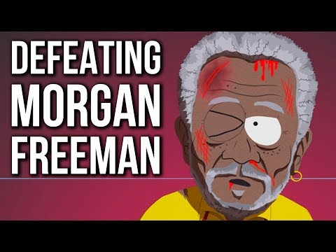 Defeating Morgan Freeman - South Park The Fractured But Whole