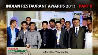 Indian Restaurant Awards 2013  Part 2