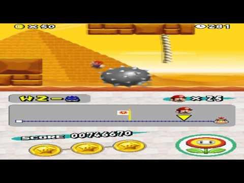 New Super Mario Bros. DSHow to Unlock World 4