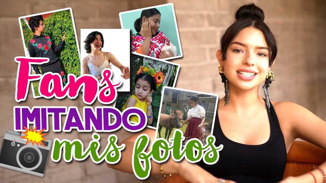 Ángela Aguilar - Mi Vlog #81 Fans imitando mis fotos