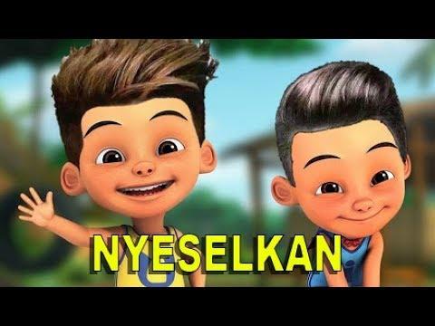 Lirik Lagu Young Lex Ft MASGIB - Nyeselkan - Versi Upin Ipin
