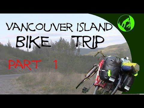 Vancouver Island Bike Trip 1- Saltspring to Lake Cowichan