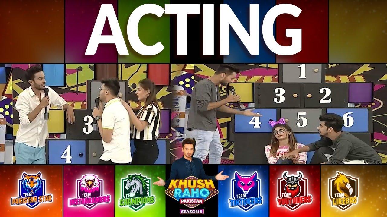 Download Acting | Khush Raho Pakistan Season 8 | Faysal Quraishi Show | TikTok