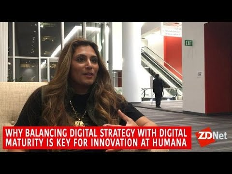 Video: Why balancing digital strategy with digital maturity is key for innovation at Humana