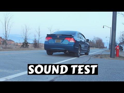 Invidia N1 Exhaust Sound - Civic Si