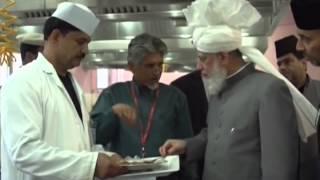 Inspection and Inauguration of Jalsa Salana UK 2014 Duties