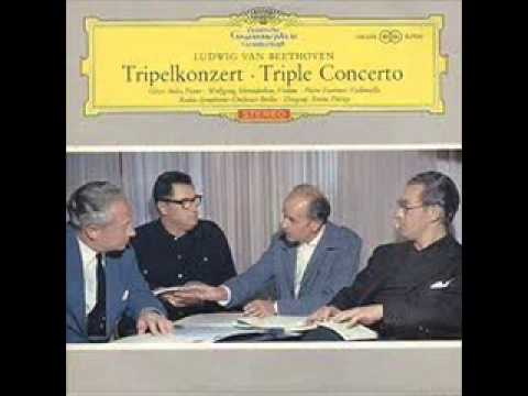 Beethoven: Triple Concerto, Anda, Schneiderhan, Fournier. (II.;III.)