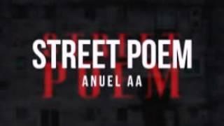 street poem anuel aa con letra