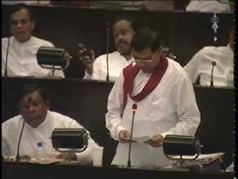 Min Basil Rajapaksa @ Parliament