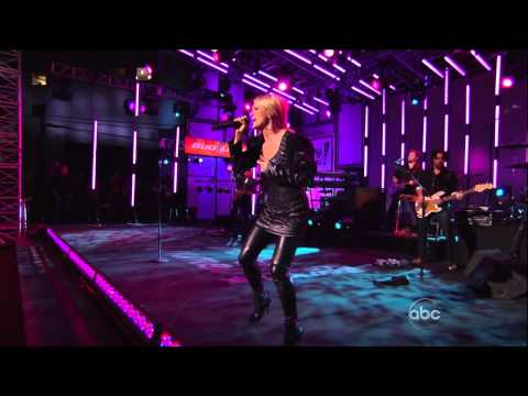 Carrie Underwood  Sings In Thigh High Boots
