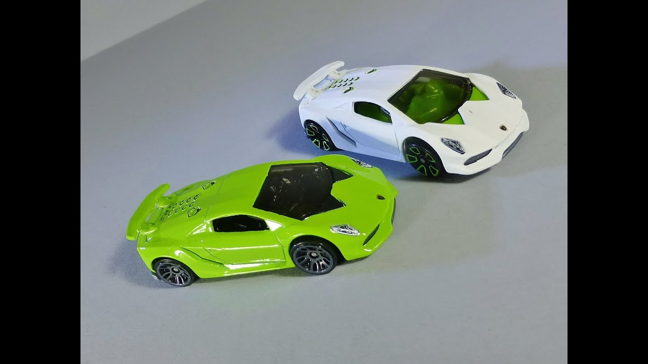 Hot Wheels Lamborghini Sesto Elemento Youtube