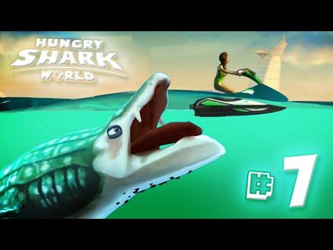 WHALE SHARK!! - Hungry Shark World | Ep7 HD