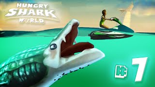 WHALE SHARK!! - Hungry Shark World | Ep7 HD
