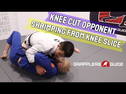 Isaac Doederlein - Knee Cut When Opponent Shrimps From Knee Slice