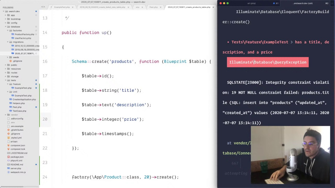Thumbnail Live Coding Session - Advanced Search with Laravel and Algolia by Nuno Maduro