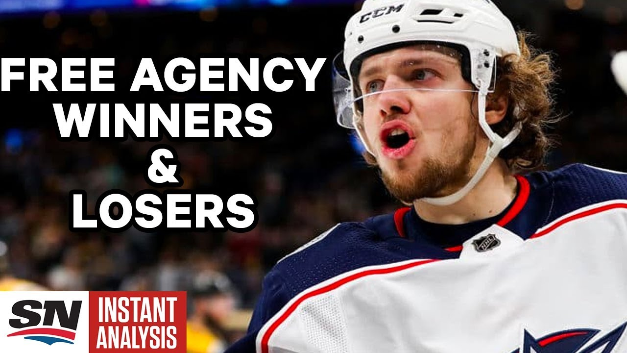 Winners And Losers From Day One Of Nhl Free Agency Plus Way Too