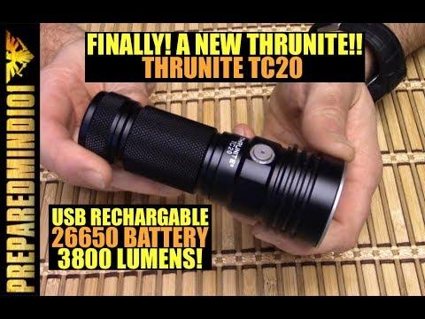 Thrunite TC20: 3800 Lumen/USB/26650 (GAW!!) - Preparedmind101