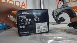 Shimano Ultegra BR-6800 Brake передний тормоз  - made in Japan(, 2015-09-04T19:22:19.000Z)
