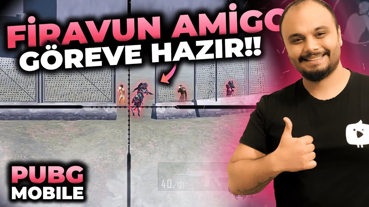 PİRAMİTE GELEN HERKESİ YOK ETTİM !! / PUBG MOBİLE Gameplay