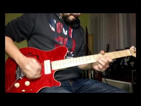 Music Man Axis Super Sport Semi Hollowbody Mm90 P90 Demo Youtube