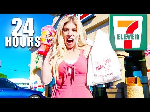 We only Ate 7-Eleven Food For 24 hours