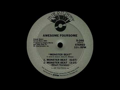 Awesome Foursome - Monster Beat ( Reality 1986 )