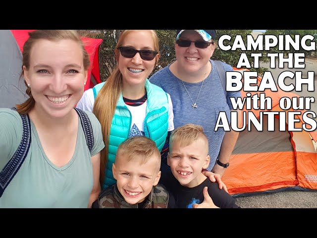Surprise Camping Trip with our Aunties! No Parents!!
