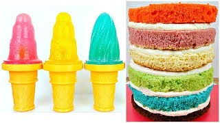 Learn Colors For Children COMPILATION, Ice Cream Popsicles KIDS SONGS
