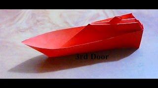 Paper Craft-How to make Paper Ship Boat(কাগজের জাহাজ)-2D Origami