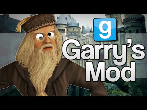 Thumbnail: HARRY POTTER WANDS!! | Garry's Mod Funny Moments (GMod)