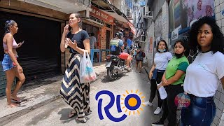 Favela Rocinha, The BIGGEST Favela In Brasil - Walking Tour