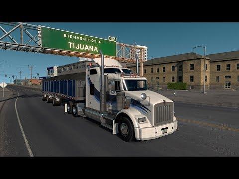 Kenworth T800 Day Cab y Studio Sleeper | Baja California ida y vuelta