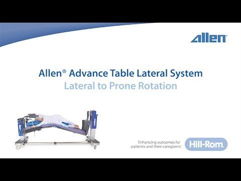 Allen Medical | L2P™ Platform Technique Video | Lateral to Prone Rotation