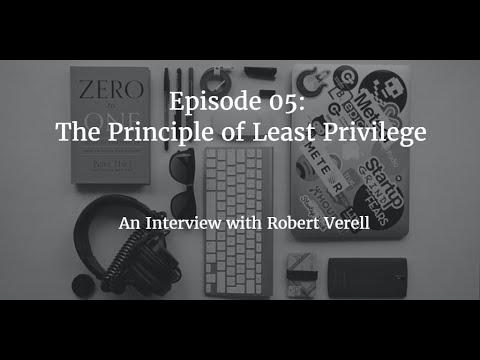 Podcast Episode 05 Principle of Least Privilege
