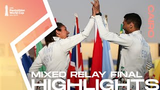 Highlights | UIPM 2020 Pentathlon World Cup Cairo EGY – Mixed Relay Finals