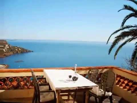 Holiday houses and villas at the french Riviera Côte d'Azur