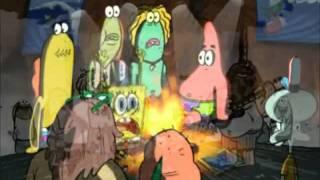 Spongebob sings Waka waka (HD)