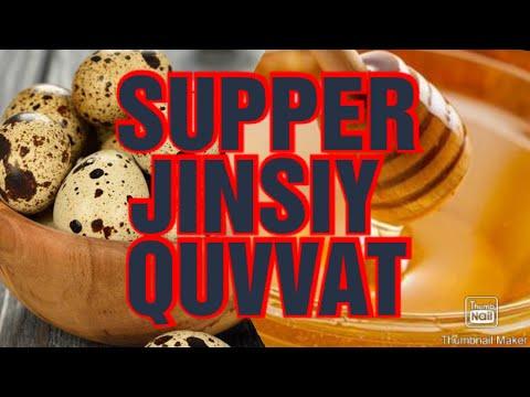 Jinsiy Quvvatni Yaxshilash. Supper Jinsiy Quvvatga Erishish. Bedona Tuxumi