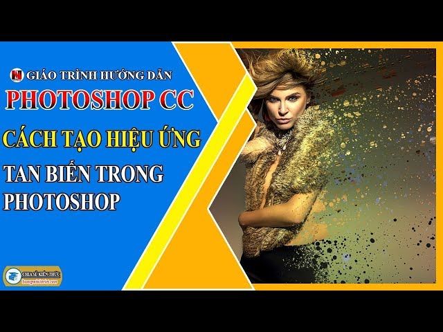 Cách Tạo Hiệu Ứng Tan Biến Trong Photoshop 🔴 Photoshop Tutorial   Lương Minh Triết