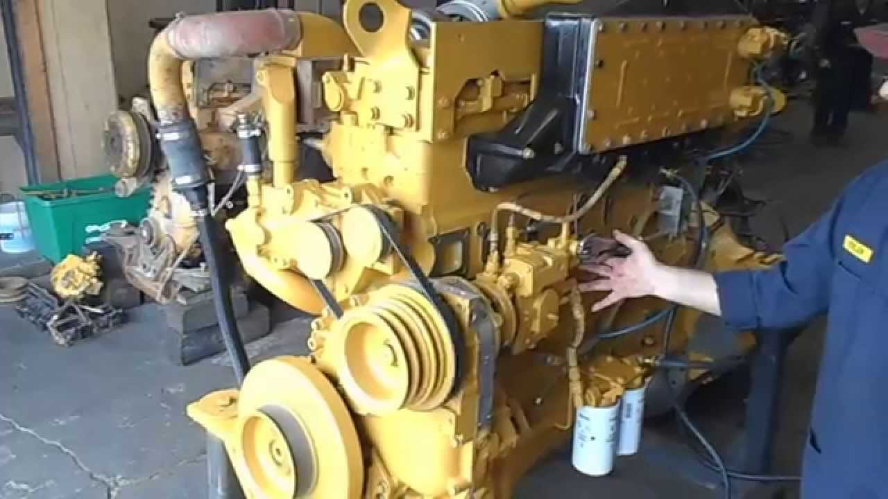 hight resolution of cummins n14 stc engine start