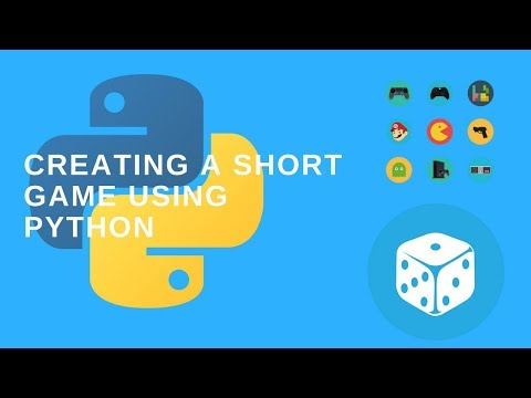 Creating a short game using python