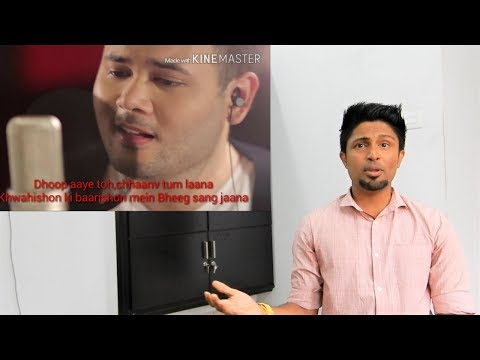 Muskurane - Arijit Singh cover by Ridho Rhoma REACTION